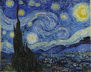 The Starry Night Vincent Van Gogh Wikipedia