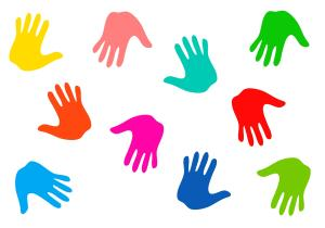 Vessels Ministry Handprints in Colors